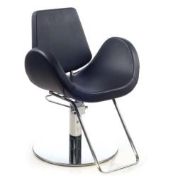Gamma & Bross ALIPES BLACK Styling Chair w/ Roto Base