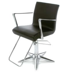 Gamma & Bross ALUOTIS ECOBLACK Styling Chair w/ Parrot Base