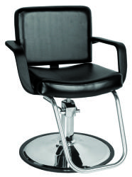Jeffco 611.0 Bravo Hair Styling Salon Chair w/ Hydraulic Base Options