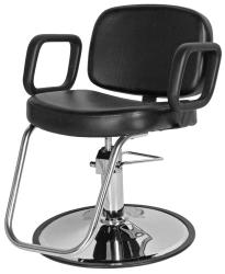 Jeffco 616.0 Sterling II Hair Styling Chair w/ Hydraulic Base Option