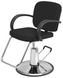 Pibbs 3606 Messina Hair Styling Chair - BLACK