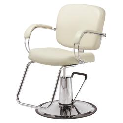 Pibbs 3906 Latina Hair Styling Chair w/ Hydraulic Base Options