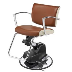 Pibbs 5886 Rosa Styling Chair w/ 1686 Electric Base