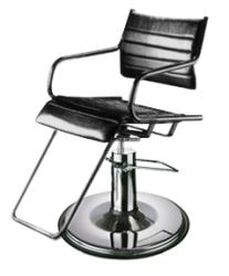 Takara Belmont ST-022 Ghia Hair Styling Chair w/ Hydraulic Base Option