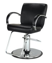 Takara Belmont ST-E10 Odin Hair Styling Chair w/ Hydraulic Base Option