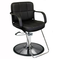 Athena  AX-1801GL1 Frank Hair Styling Salon Chair w/  Round Hydraulic Base