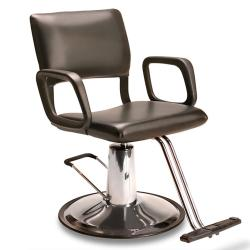 Veeco AR-HC-01-B Steel Frame Styling Chair