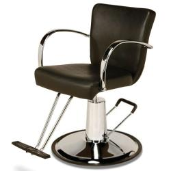 Veeco AR-D002-B Emily Styling Chair on Round Base