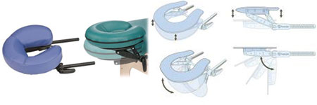 Earthlite spirit extra wide 35 massage table for Ab salon equipment