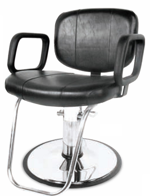 Collins 3700 Cody Hair Styling Chair w/ Hydraulic Base Options