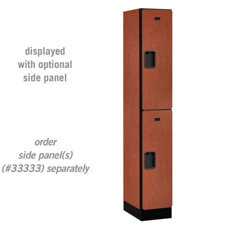 "AB Atmosphere 32168 Double Tier Designer Locker - 12"" W x 76"" H x 18"" D"