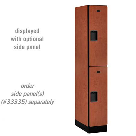 "AB Atmosphere 32161 Double Tier Designer Locker - 12"" W x 76"" H x 21"" D"