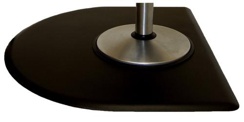IC Urethane Tranquility 5040CNT Salon Chair Floor Mat - 5' x 4' x 3/4""