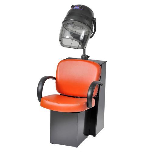 Pibbs 3668 Messina Dryer Chair for Pole Dryer - Black Steel Base