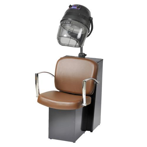 Pibbs 3768 Pisa Dryer Chair for Pole Dryer - Black Steel Base
