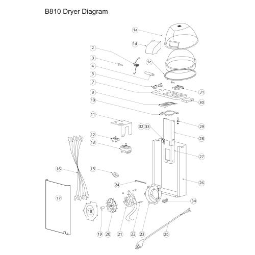 B10 Dryer Parts Diagram For Belvedere Hair Dryer Shop And Save At Ab