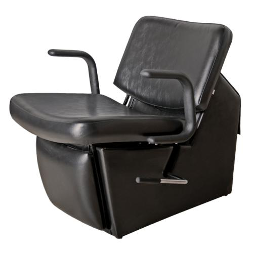 Collins QSE 15ES Monte 59 Electric Shampoo Chair w/ Kick-Out Legrest, Chassis in Black