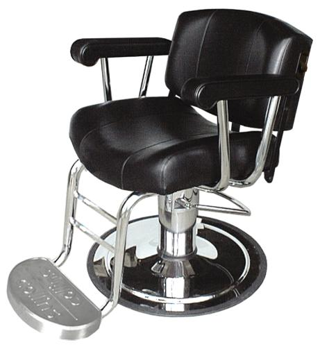 Collins QSE 9020 Continental Hydraulic All Purpose Chair w/ Logo Footrest & Heavy Duty Base