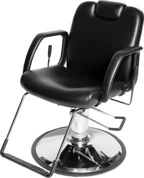 Jeffco 30512.1.G NU All Purpose Chair w/ Built in Headrest