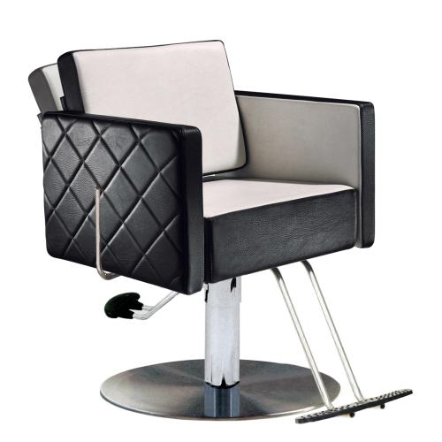 Salon Ambience CH/101-4/R Square All Purpose Chair w/ 1684 Base