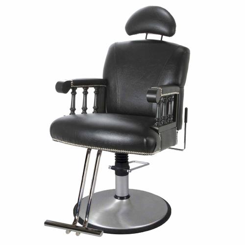 Belvedere WBXBB Balmoral Barber Chair w/ Hydraulic Base Options