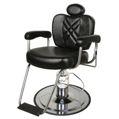 Collins QSE 8070 Metro Barber Chair w/ Heavy Duty Base