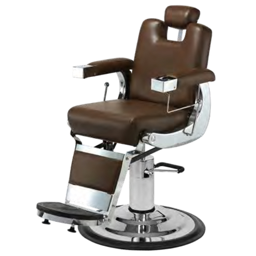 Pibbs 659 Capo Barber Chair with 1611 Base