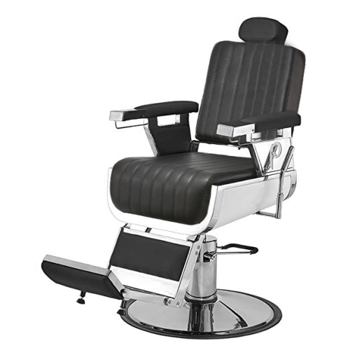 Pibbs 660 Grande Barber Chair - Black - SALE