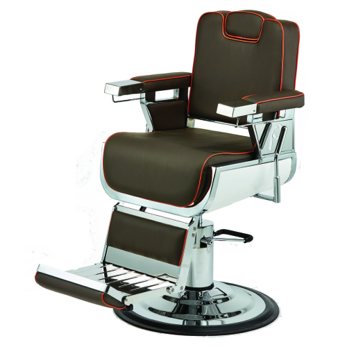 Pibbs 661A Seville Barber Chair w/ 1611 Step Base