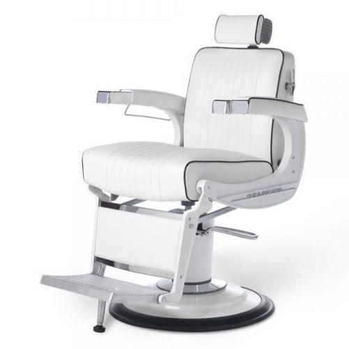 Belmont Barber Chair >> Takara Belmont Bb 225wht Elegance Elite White Barber Chair