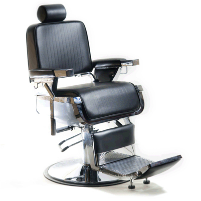 YCC Products H-31905BKR Emperor Barber Chair