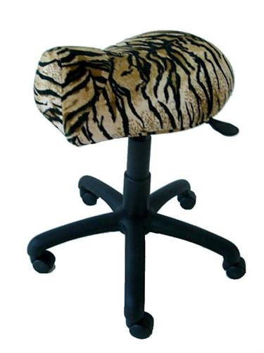King Seats S116 Saddle Cutting Stool - Animal Print
