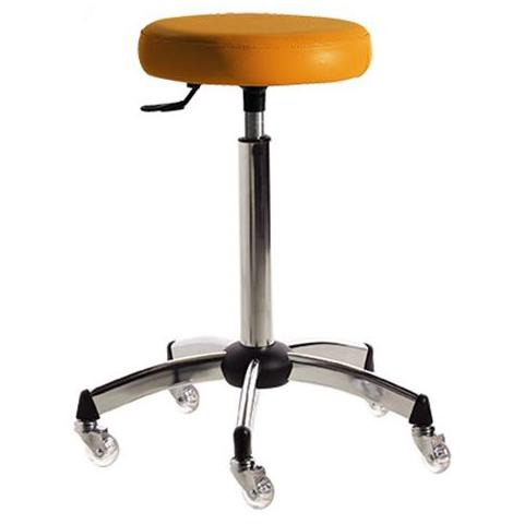 Salon Ambience CS/250 Harley Deluxe Cutting Stool - Chrome Base