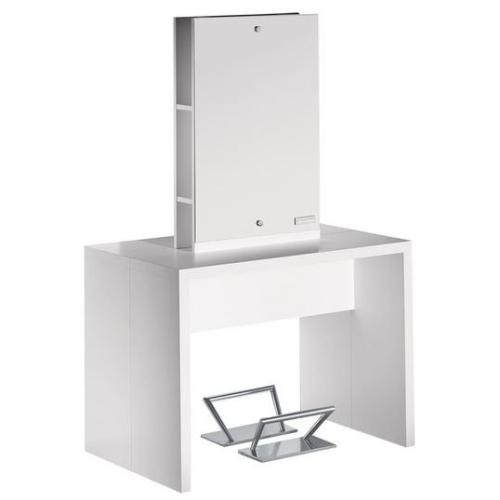 Salon Ambience MI/247 Flat Island Station for 2 Stylists - White