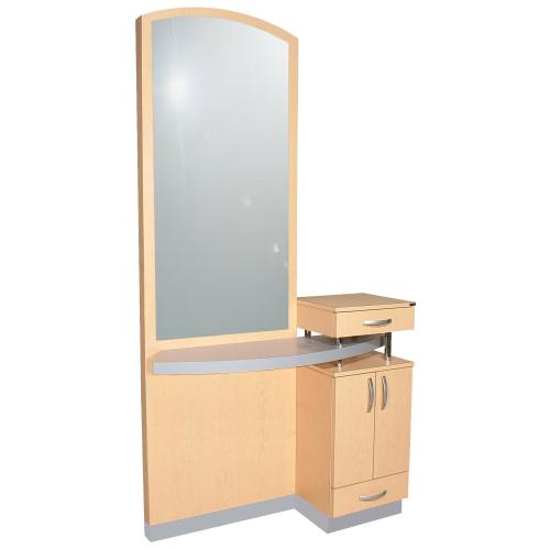 Collins 801-48 Soho Station w/ Arched Mirror