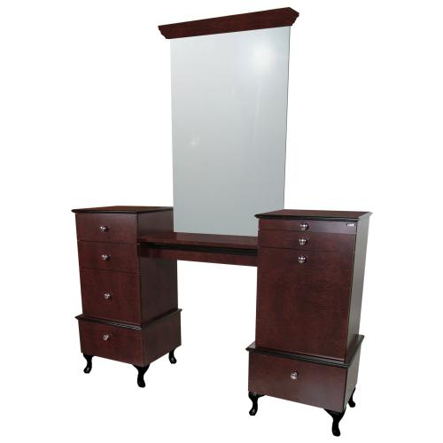 Collins 896-66 Bradford Twin-Vanities Styling Station