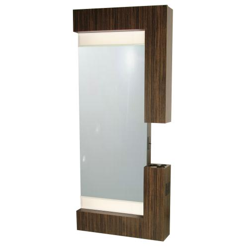 Collins 605-36 Rio Wall-Mounted Styling Station w/ Mirror