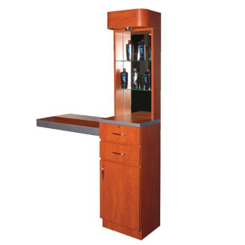 Pibbs 5003 Styling Station w/ Storage & Display