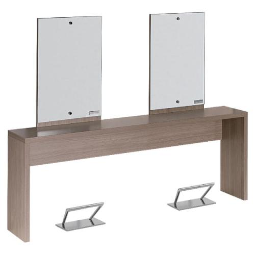 Salon Ambience MI/242 Flat Double Wall Station