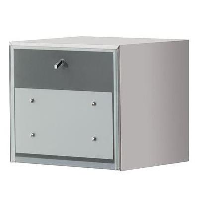 Salon Ambience MC/030 Lugo Stainless Steel Cabinet