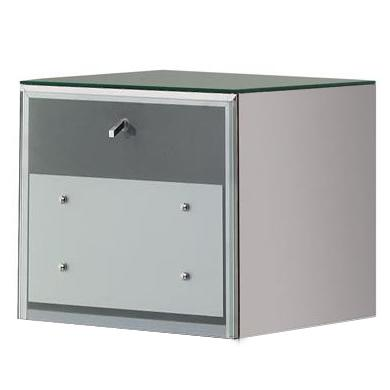 Salon Ambience MC/040 Lugo Sky Stainless Steel Cabinet