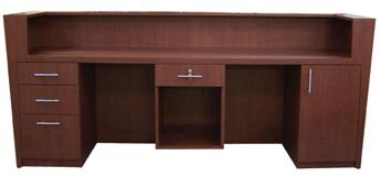 AB Salon Equipment 82455 The Prestige Reception Desk
