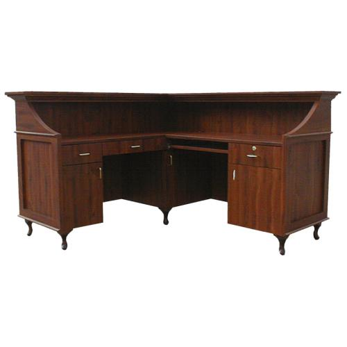 Collins 913-66 Bradford L-Shaped Reception Desk