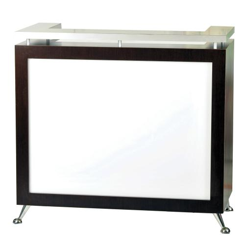 Pibbs 5057 Reception Desk w/ Lit Front Panel