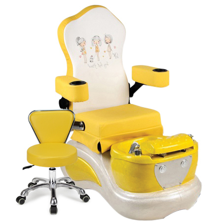 AB Atmosphere Yellow Best Friend Pedicure Spa