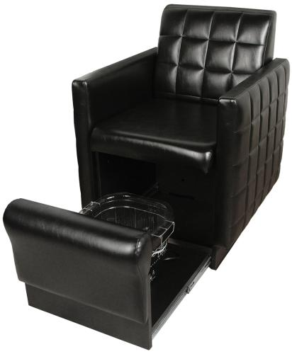 Collins QSE 2560 Club Pedicure Spa, Nouveau Chair w/ Footsie Bath