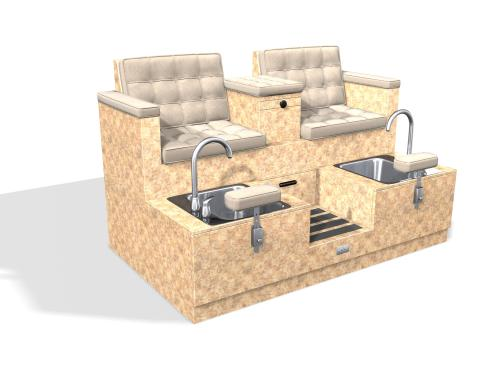 Design X 4100-D Monticelle Loveseat Pedicure Spa