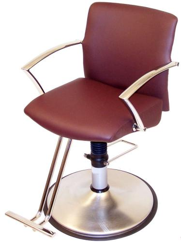 Belvedere Sleek SL12 Hair Styling Salon Chair w/ Hydraulic Base Option