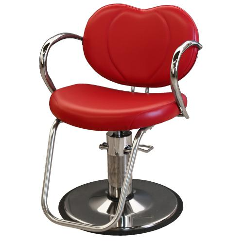 Tremendous Collins 7000 Bella Hair Styling Salon Chair W Hydraulic Base Option Home Interior And Landscaping Eliaenasavecom