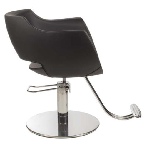 Gamma & Bross CLUST BLACK Styling Chair w/ Roto Base